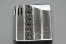 Vintage Lighter MARUMAN HALLEY SILVER TONE DL-6 Electric Made in Japan -Preowned