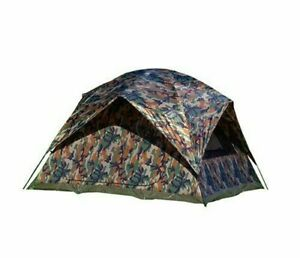 Texsport Headquarters Camouflage Square Dome 5 person Tent