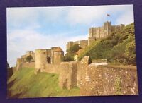 POSTCARD: P6: DOVER CASTLE: KENT: VIEWS FROM SOUTH WEST: UN POSTED