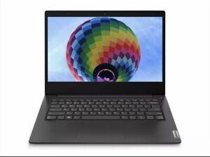 "NEW Lenovo IdeaPad 3 14"" HD Pentium Gold 4GB RAM 128GB SSD Windows 10 Black"