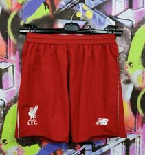 Liverpool Fc The Reds Football Soccer Training Shorts New Balance Youth Size L