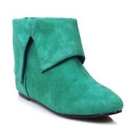 Ellie 031-PAN Men's Green Peter Pan Elf Renaissan Costume Ankle Boot Bootie Shoe