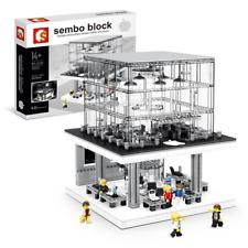 Bausteine Store Beleuchtung USB Gebäude Figur SEMBO-SD6900 Modell OVP 1116PCS