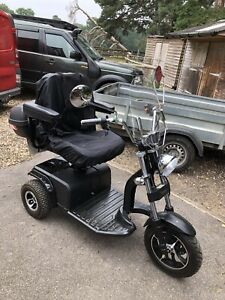 Monarch Trident three wheel trike. Road Registered Mobility Scooter.