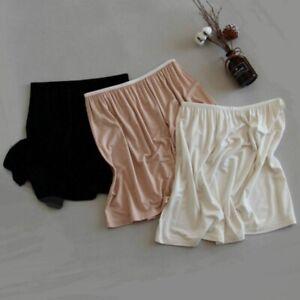 Women Modal Petticoat Skirt Underskirt Half Slip Mini Soft A Line 40/70cm