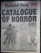 1991 GULF WAR newspaper Melb. HERALD SUN dated FEB. 28th. nice clean copy