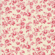 Moda Fabric Le Beau Papillon by French General   13867-13 Faded Pink