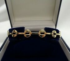 Fine Fancy Link Bracelet 375 (9ct) Yellow Gold - Length 7 1/2 inch (19 cm) -5.4g