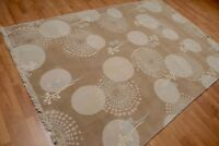 6' x 9' Hand Knotted 100% Wool Area rug AOR8553 6x9 Tan