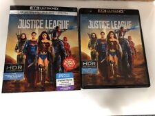 justice league 4K Ultra HD 1 Disc Set( No Digital HD) Ship Now