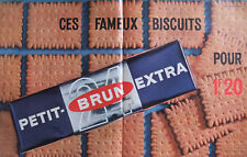 PUBLICITÉ DE PRESSE 1964 BISCUITS PETIT BRUN EXTRA - ADVERTISING