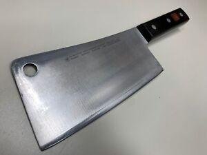 ED WUSTHOF DREIZACKWERK SOLINGEN GERMANY 4680/16 MEAT CLEAVER KNIFE