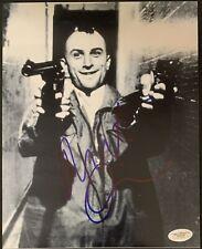 Robert Deniro Taxi Driver Signed 8x10 Photo Autographed Jsa Coa