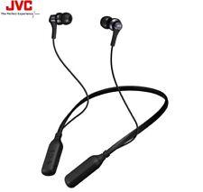 JVC HA-FX42BT BLACK Premium Sound Wireless Bluetooth Neck Band Earphones /NEW