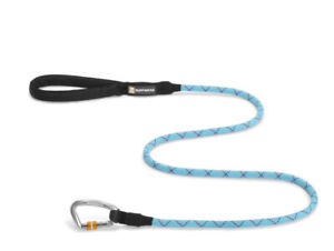 RUFFWEAR KNOT A LEASH IN BLUE ATOLL 11mm USED