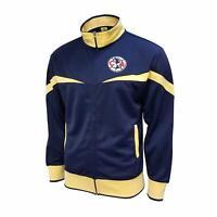 Club America Track Jacket Navy Soccer Aguilas Del America Adults Navy New Season