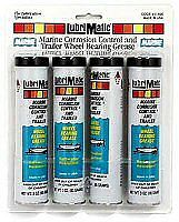 LUBRIMATIC Marine Wheel Bearing Grease, 3 oz. Cartridges #11400