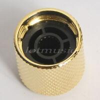 2pcs Gold Metal Electric Guitar Knobs Dome Knob For Fender Tele Telecaster Parts
