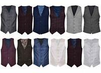 Mens Waistcoat Party Tops Suit Vest Slim Fit  Wedding Design Formal Casual Coat