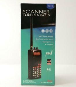 Whistler WS1010 Portable, Handheld ANALOG SCANNER RADIO Police, Fire, Emergency!