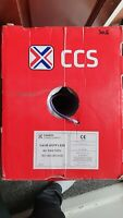 Cat 5E 305m U/UTP LSZH CCS Connectix Cablings Systems - Grey INDOOR Ethernet