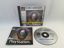 Playstation 1 PS1 PSX - Oddworld Abe's Oddysee