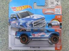 Hot Wheels 2016 #141/250 2015 FORD F-150 blue HW HOT TRUCKS Case A