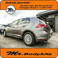 Mr. Well Made Plastic Rear Roof Spoiler Wing Suit VW Golf 7/ 7.5  (Non GTi / R)