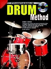 PROGRESSIVE DRUM METHOD Book & CD*