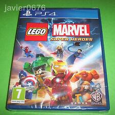 LEGO MARVEL SUPER HEROES NUEVO Y PRECINTADO PAL ESPAÑA PLAYSTATION 4 PS4