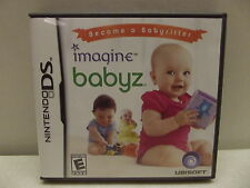 NINTENDO DS IMAGINE BABYZ BECOME A BABY SITTER GAME COMPLETE