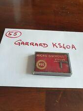 NOS Diamant saphir Neuf ! Original , GARRARD KS40A, 40ASR, zafira 5801, Etc, new