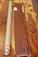 Vintage Heddon Bamboo Fly Rod Fishing  #14 9', Fer.2 1/2, Wt. 5.8 oz