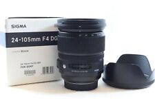Sigma 24-105mm F/4 DG HSM Lens for Sony ALPHA A Mount A77 / A68 / A99-BB 615-