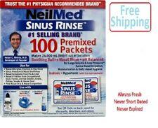 NeilMed Pharmaceuticals Sinus Flush Neti Pot Refills 100 ct box