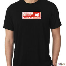In Case of Emergency Rescue My Norwich Terrier Tee Shirt dog safety