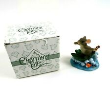 Charming Tails Hang Ten Figurine - Mouse Riding a Wave 83/103