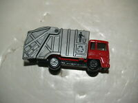 Matchbox Refuse truck 1979 Red/Grey - Excellent