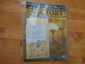 1/84 DEAGOSTINI BUILD LORD NELSON'S HMS VICTORY MODEL SHIP ISSUE 129 INC PART