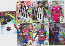 PANINI FOOTBALL 2014 2015 ADRENALYN CARDS LOT DE 7 CARDS GAME CAEN
