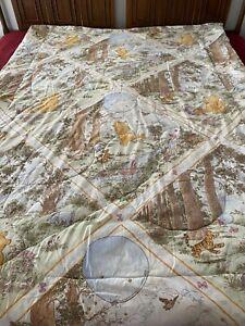 Classic Disney Winnie The Pooh Twin Comforter Reversible