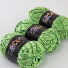 C Fashion 3ballx50g Cotton Baby Hand-dyed Wool Socks Scarf Yarn Knitting Yarn 03