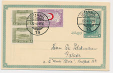 Türkei  Turkey   ISTANBUL  Ganzsache  1930  Postkarte   ( 610