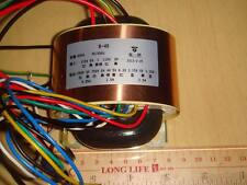 DOUBLE SHIELDING 250V-0-250V 0-4-5-6.3V 6.3V CT 50VA R CORE POWER TRANSFORMER