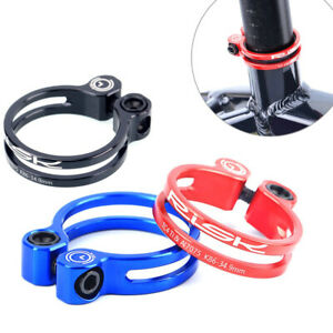 Ultra-Light Bike Seatpost Clamp Hollow Bicycle Seat Post Tube Fixed Clip
