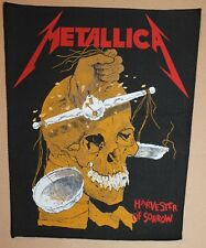 Metallica , Vintage Harvester of Sorrow Backpatch, rar, rare