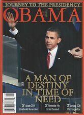 Barack Obama magazine special Inauguration special White House Presidential info