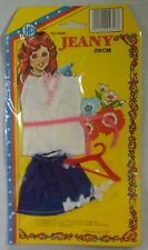 HP TOYS VTG 70's JEANY 12'' - 29cm BARBIE SINDY DOLL DRESS FASHIONS CLOTHES Y