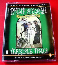 Philip Ardagh Terrible Times Eddie Dickens 2-Tape UNABR.Audio Bk Sylvester McCoy