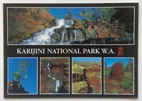 Karijini National Park WA Fortesque Joffre Falls Oxers Lookout Postcard (P339)